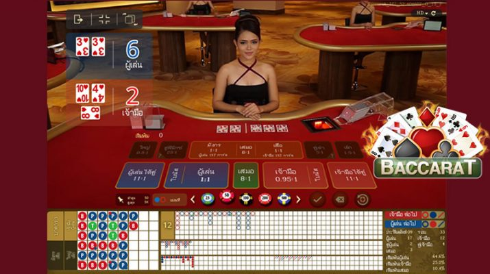 Live Baccarat Online New Dimension Betting