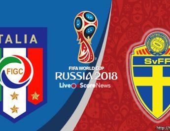 วิเคราะห์ศึกฟุตบอลโลก 2018 รอบเพลย์ออฟ อิตาลี พบกับ สวีเดน